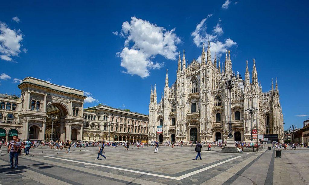 onoranze funebri nei pressi del Duomo di Milano
