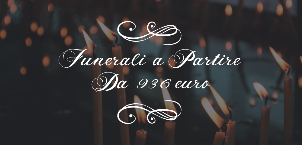 funeralae low cost a Milano - solo 936 euro