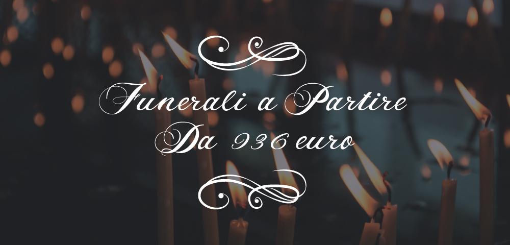 onoranze funebri sotto la madonnina - prezzi funerale