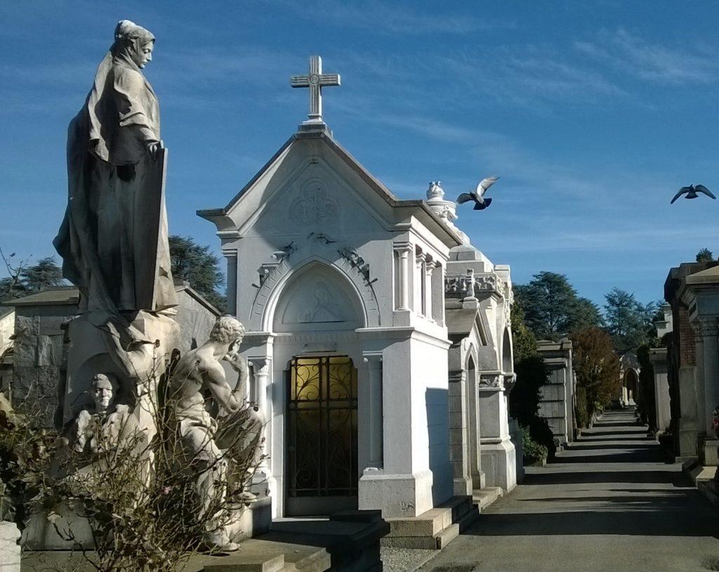 cappelle famiglia cimitero monumentale Milano