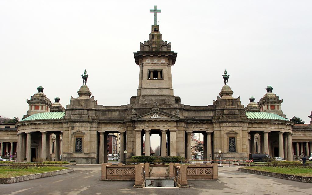 cimitero di Milano sepoltura
