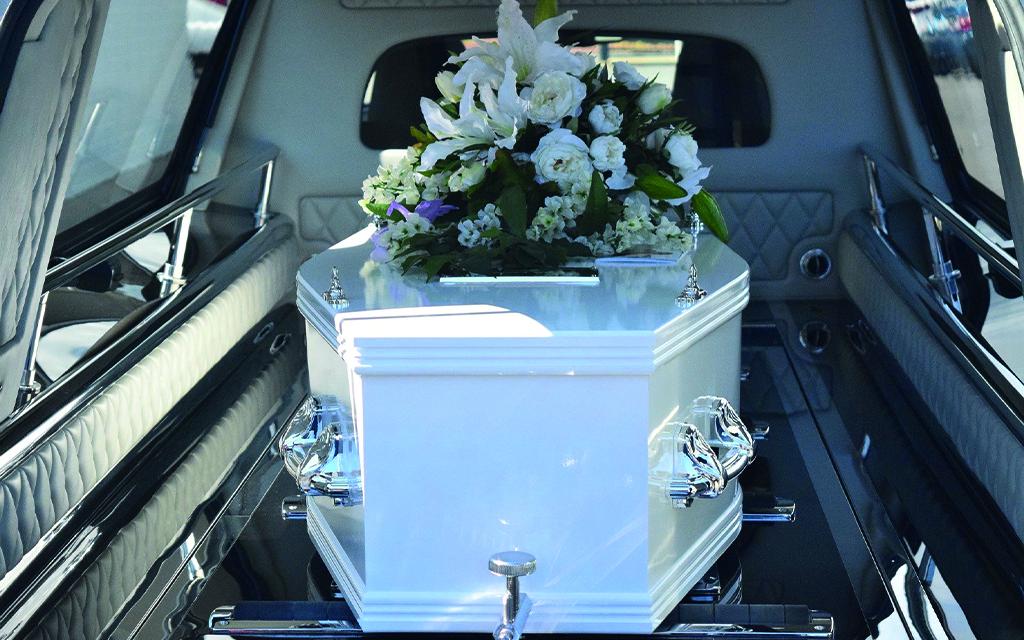 Bara per la sepoltura di Onoranze Funebri La Simonetta dal 1946