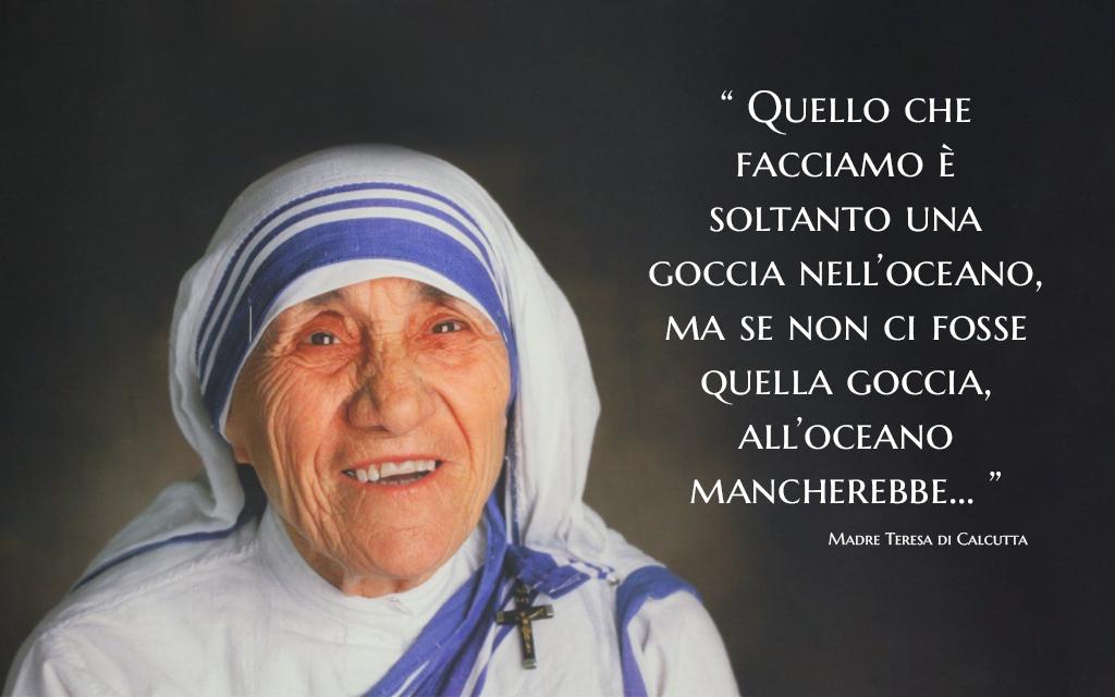 frase per i defunti di Madre Teresa di Calcutta