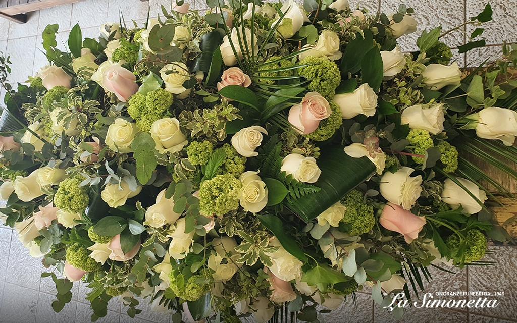 ordinare fiori online a Milano con Onoranze Funebri La Simonetta