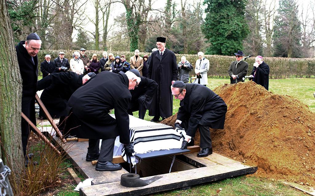 Rito funebre ebraico